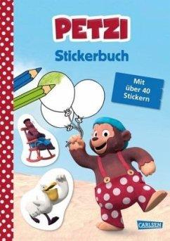 Petzi: Stickerbuch - Leintz, Laura