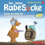 Der kleine Rabe Socke - Socke aus dem All und andere rabenstarke Geschichten, 1 Audio-CD
