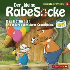 Der kleine Rabe Socke - Das Hofturnier und andere rabenstarke Geschichten, 1 Audio-CD
