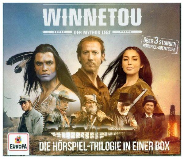 Winnetou - Der Mythos lebt, 3 Audio-CDs