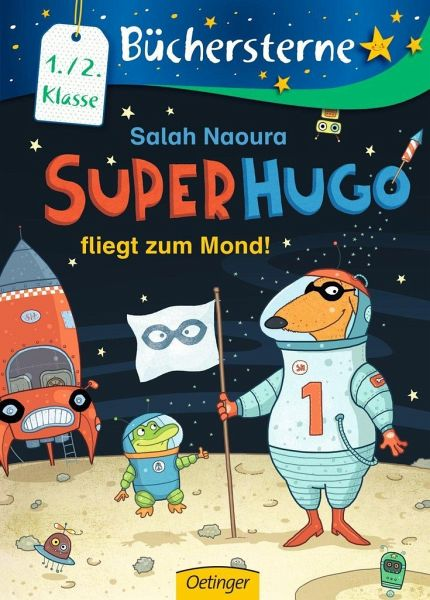 Buch-Reihe Superhugo von Salah Naoura