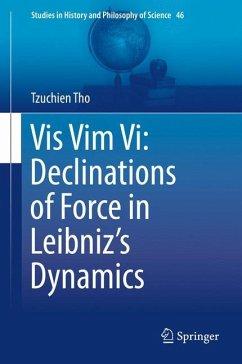 Vis Vim Vi: Declinations of Force in Leibniz's Dynamics - Tho, Tzuchien