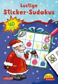Lustige Sticker-Sudokus / Pixi kreativ Bd.93