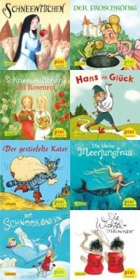 Pixi-Bundle 8er Serie 249: Aus Pixis Märchenschatz