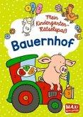 Mein Kindergarten-Rätselspaß. Bauernhof