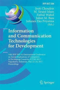 Information and Communication Technologies for ...