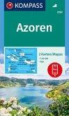 KOMPASS Wanderkarte Azoren