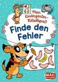 Mein Kindergarten-Rätselspaß. Finde den Fehler