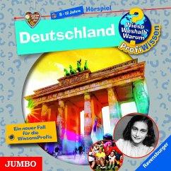 Deutschland / Wieso? Weshalb? Warum? - Profiwissen Bd.21 (1 Audio-CD) - Schwendemann, Andrea