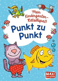 Mein Kindergarten-Rätselspaß. Punkt zu Punkt - Wagner, Charlotte