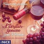 Literaturgenüsse zum Rotwein. Gedichte, Geschichten, Märchen und Musik, 1 Audio-CD