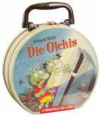 Die Olchis - Mein Hörbuch-Koffer, 4 Audio-CDs