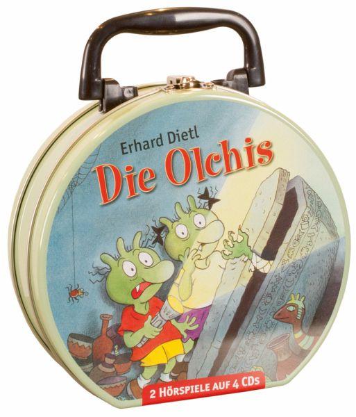 Die Olchis - Mein Hörbuch-Koffer, 4 Audio-CDs - Dietl, Erhard