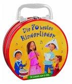 Die 70 besten Kinderlieder - Mein Hörbuch-Koffer, 5 Audio-CDs