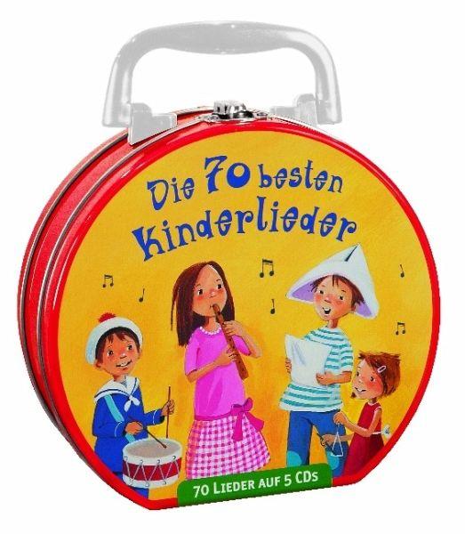 Die 70 besten Kinderlieder - Mein Hörbuch-Koffer, 5 Audio-CDs - Various
