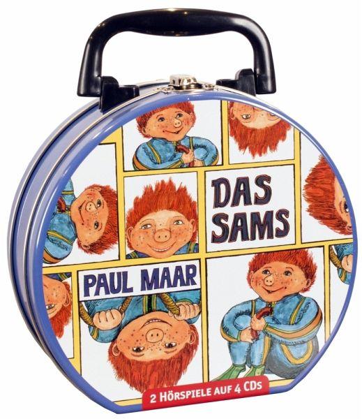 Das Sams - Mein Hörbuch-Koffer, 4 Audio-CDs - Maar, Paul