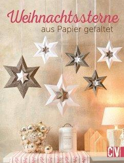 Weihnachtssterne aus Papier gefaltet - Moras, Ingrid