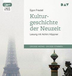 Kulturgeschichte der Neuzeit, 1 MP3-CD - Friedell, Egon