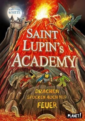 Buch-Reihe Saint Lupin's Academy
