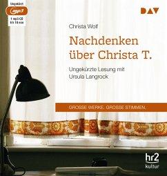 Nachdenken über Christa T., 1 MP3-CD