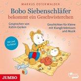 Bobo Siebenschläfer bekommt ein Geschwisterchen, 1 Audio-CD