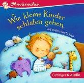 Wie kleine Kinder schlafen gehen und andere Geschichten, 1 Audio-CD