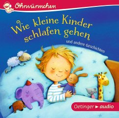 Wie kleine Kinder schlafen gehen und andere Geschichten, 1 Audio-CD - Zur Brügge, Anne-Kristin; Schmidt, Hans-Christian; Steinwart, Anne