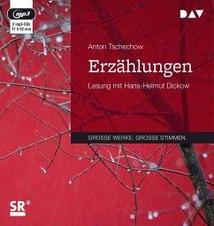 Erzählungen, 2 MP3-CD - Tschechow, Anton Pawlowitsch