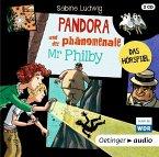 Pandora und der phänomenale Mr Philby, 2 Audio-CDs