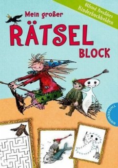 Mein großer Rätselblock - Otfried Preußlers Kinderbuchhelden - Preußler, Otfried
