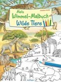Mein Wimmel-Malbuch - Wilde Tiere