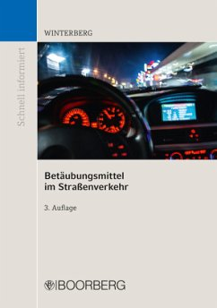 Betäubungsmittel im Straßenverkehr - Winterberg, Carsten