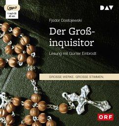 Der Großinquisitor, 1 MP3-CD - Dostojewskij, Fjodor M.