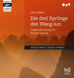 Die drei Sprünge des Wang-lun, 2 Audio-CD, 2 MP3 - Döblin, Alfred