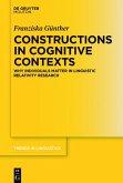 Constructions in Cognitive Contexts (eBook, PDF)
