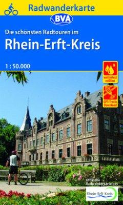 BVA Radwanderkarte Die schönsten Radtouren im Rhein-Erft-Kreis