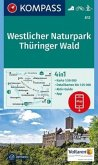 Kompass Karte Westlicher Naturpark Thüringer Wald