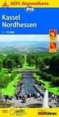 ADFC-Regionalkarte Kassel Nordhessen mit Tagestouren-Vorschlägen