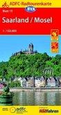 ADFC-Radtourenkarte Saarland / Mosel