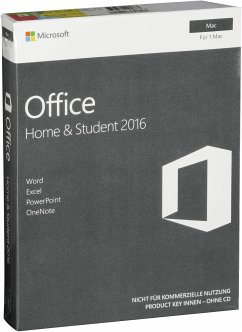 Microsoft Office Mac 2016 Home & Student