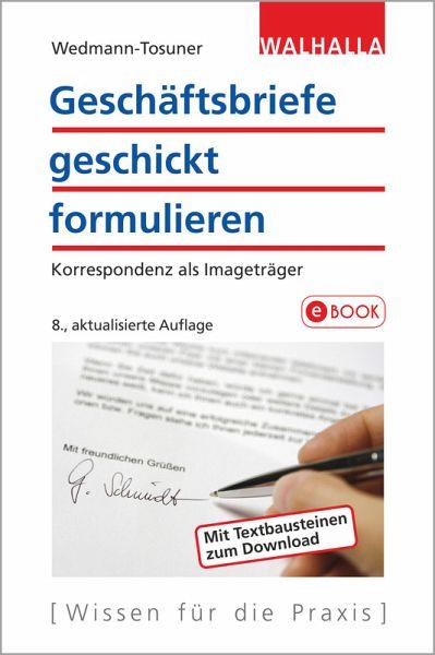 Geschäftsbriefe Geschickt Formulieren Ebook Epub Von Bärbel