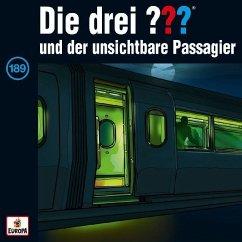 Die drei ??? und der unsichtbare Passagier / Die drei Fragezeichen - Hörbuch Bd.189 (1 Audio-CD)