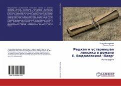 Redkaq i ustarewshaq lexika w romane E. Vodolazkina