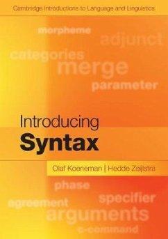 Introducing Syntax - Könemann, Anneli von; Zeijlstra, Hedde