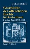 Geschichte des öffentlichen Rechts in Deutschland Bd. 2: Staatsrechtslehre und Verwaltungswissenschaft 1800-1914 (eBook, PDF)