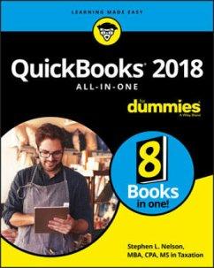 QuickBooks 2018 AIO For Dummies