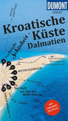 DuMont direkt Reiseführer Kroatische Küste Dalmatien - Schetar, Daniela