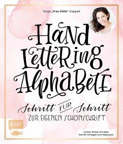 Handlettering Alphabete - Cappell, Tanja