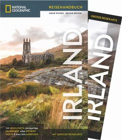 National Geographic Reiseführer Irland: Mit Karte, Sehenswürdigkeiten und Geheimtipps von Irland wie Waterford, Ring of Kerry und Cliffs of Moher, Connemara, Dublin und Belfast. - Somerville, Christopher