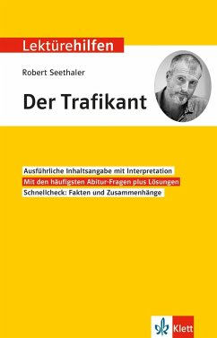 Lektürehilfen Robert Seethaler